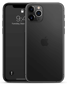 transparent skin iPhone 11 Pro