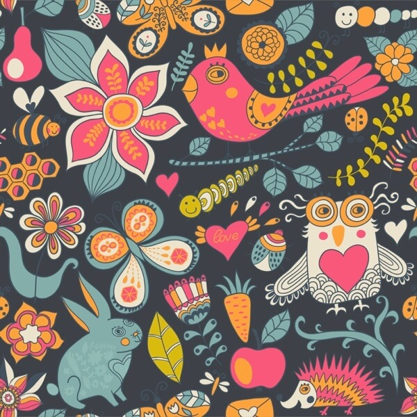 Funny Animals Pattern