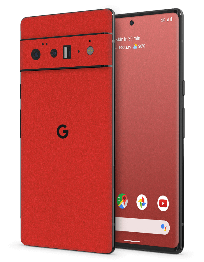 Google Pixel Structural Skin Rugged Red