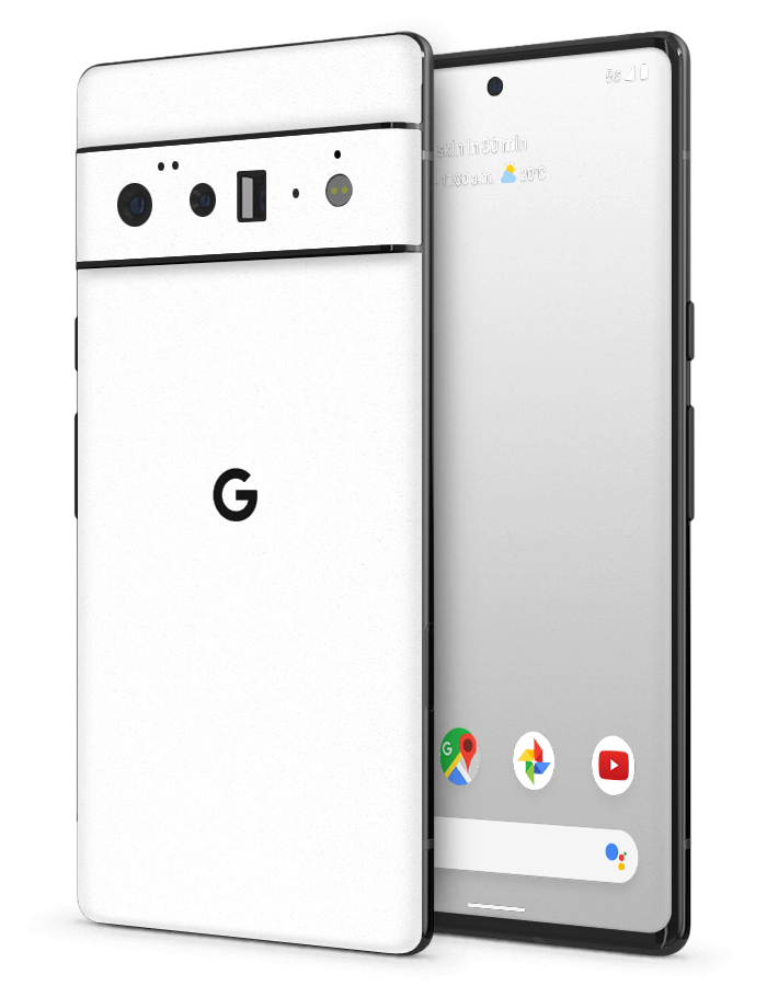 Google Pixel Structural Skin Rugged White