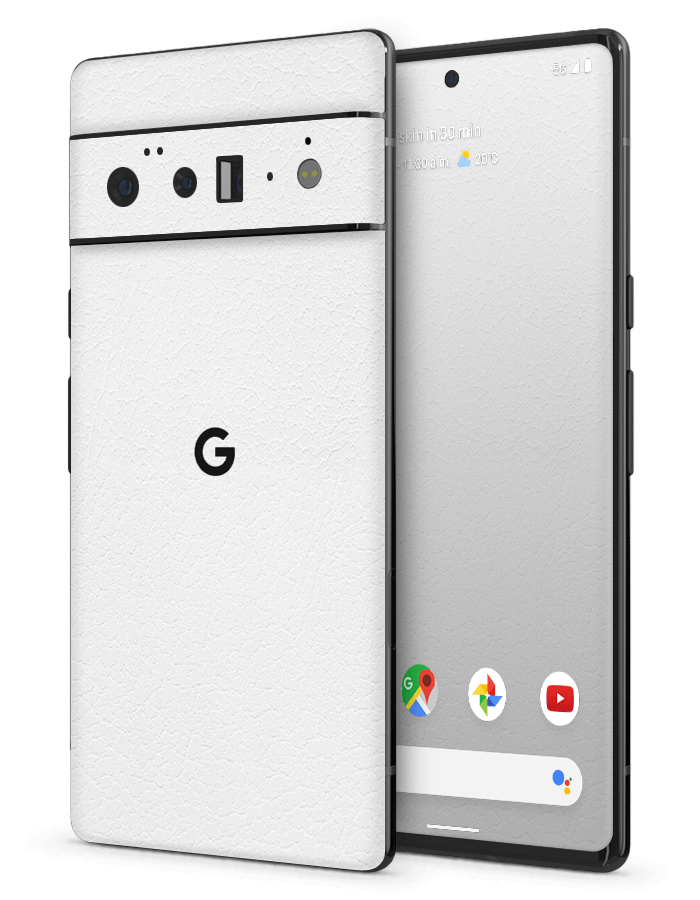Google Pixel Structural Skin White Leather