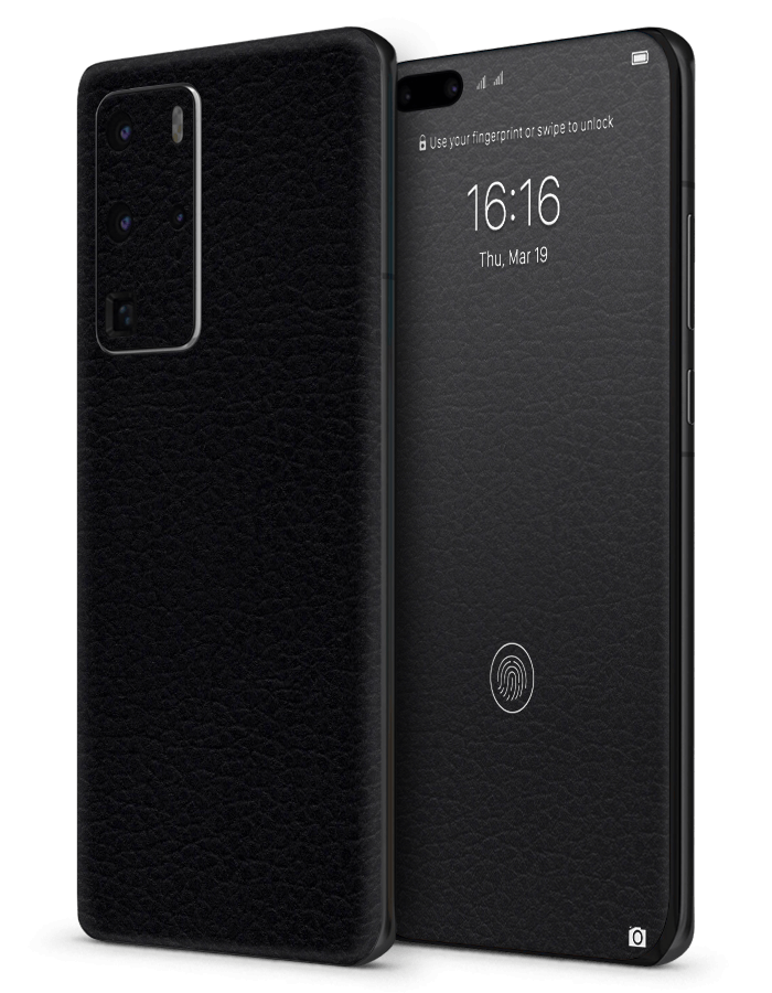 Huawei architectonical Skin Black Leather