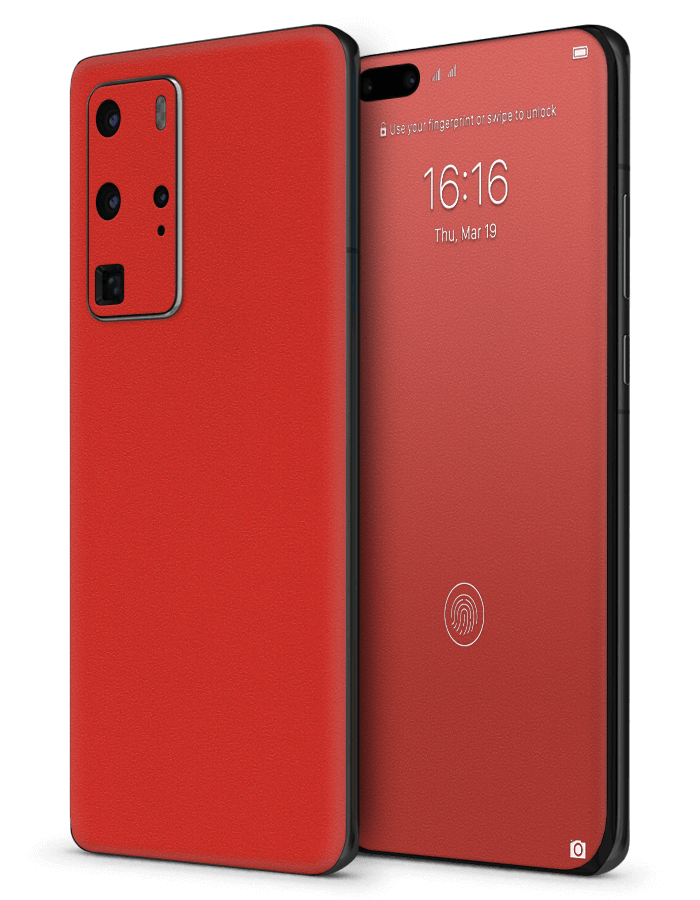 Huawei architectonical Skin Rugged Red