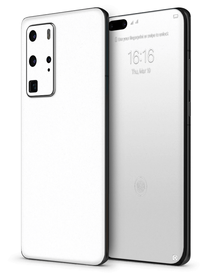 Huawei architectonical Skin Rugged White