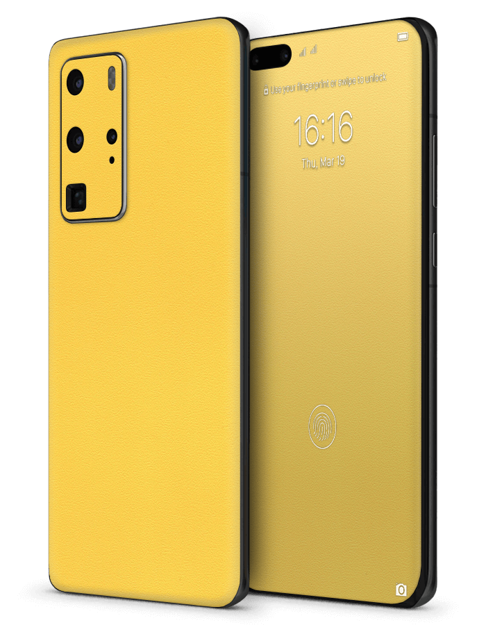 Huawei architectonical Skin Rugged Yellow