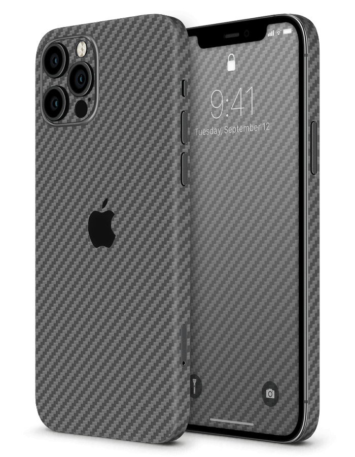 iPhone structural Skin Carbon Anthracite