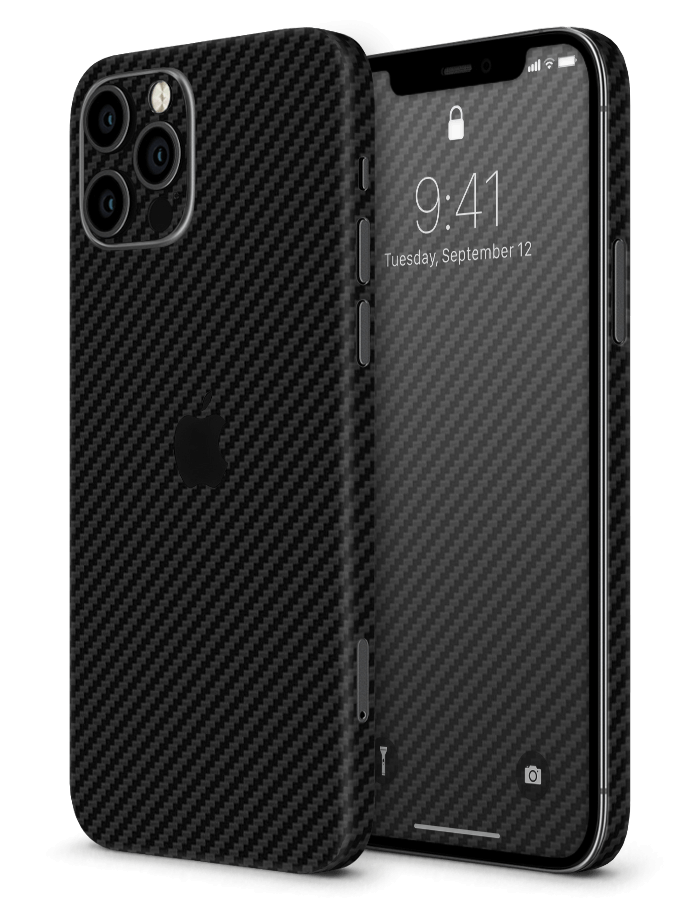 iPhone structural Skin Carbon Black