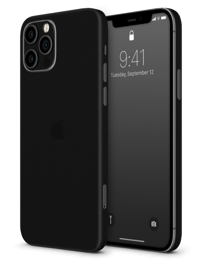iPhone structural Skin Matte Black