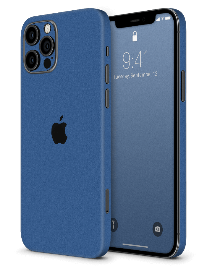 Architectonical iPhone Skin Rugged Blue