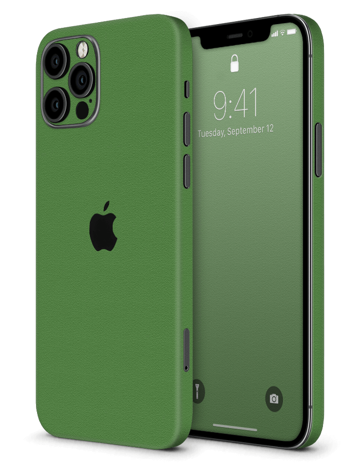 Architectonical iPhone Skin Rugged Green