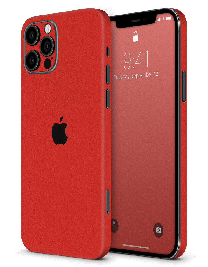 Architectonical iPhone Skin Rugged Red