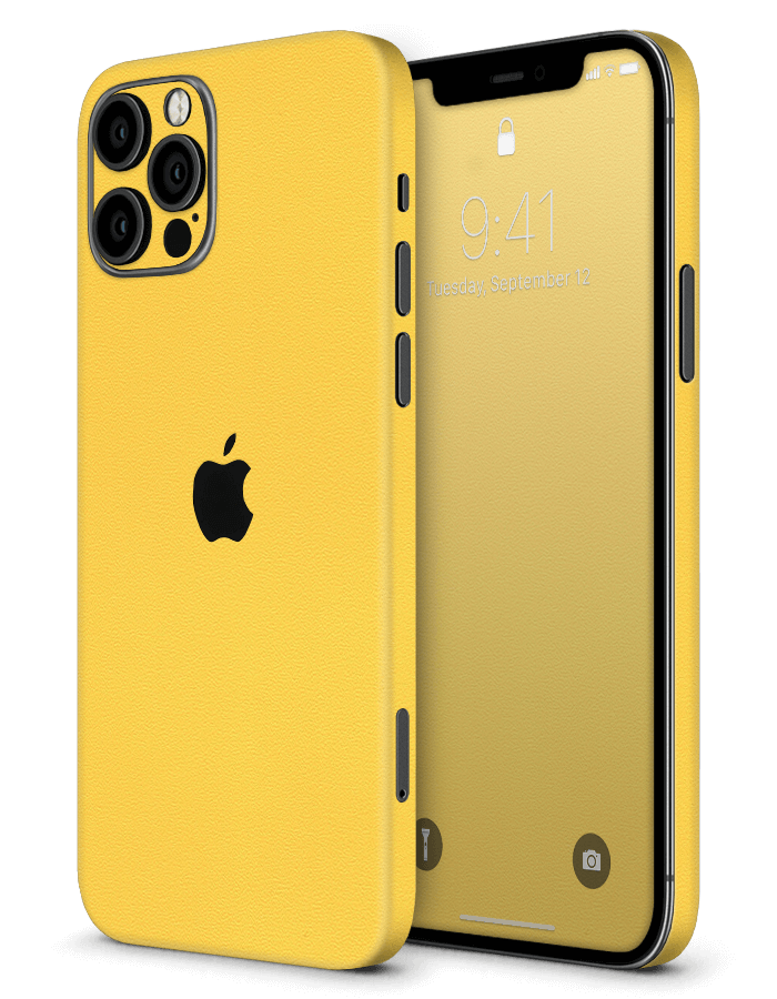 Architectonical iPhone Skin Rugged Yellow