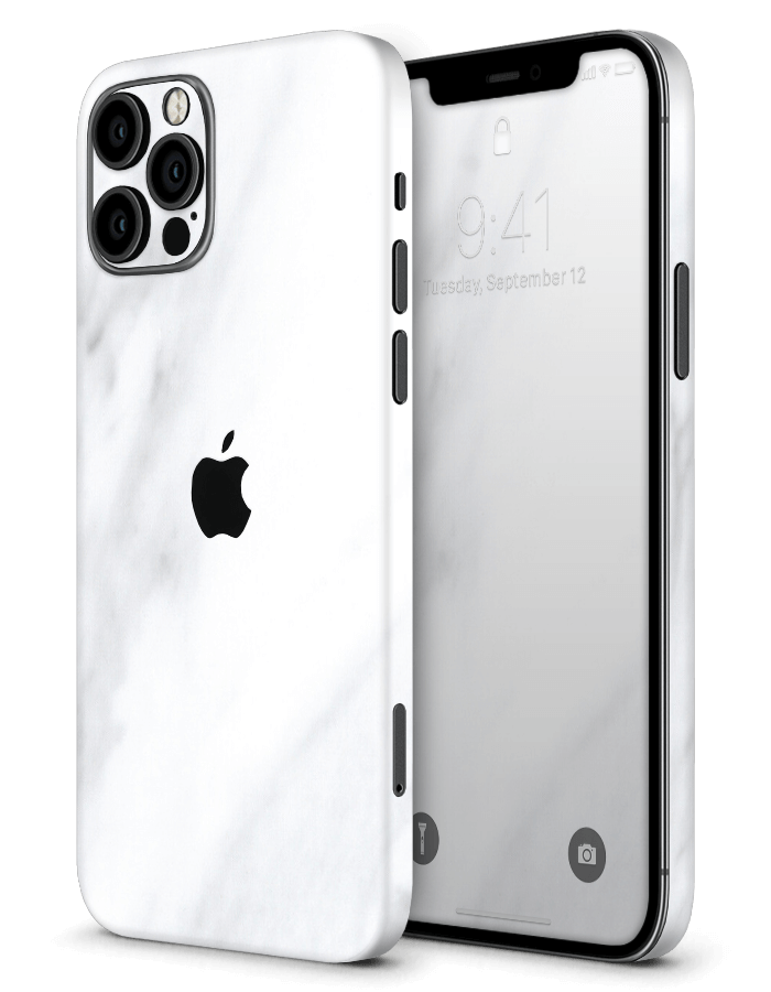 Architectonical iPhone Skin White Marble