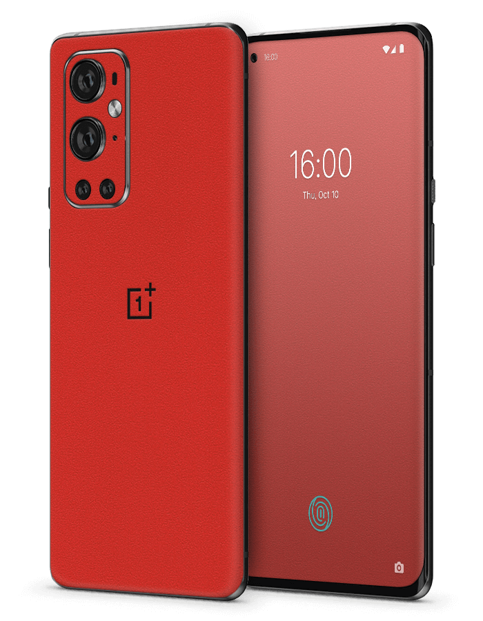 Architectonical OnePlus Skin Rugged Red