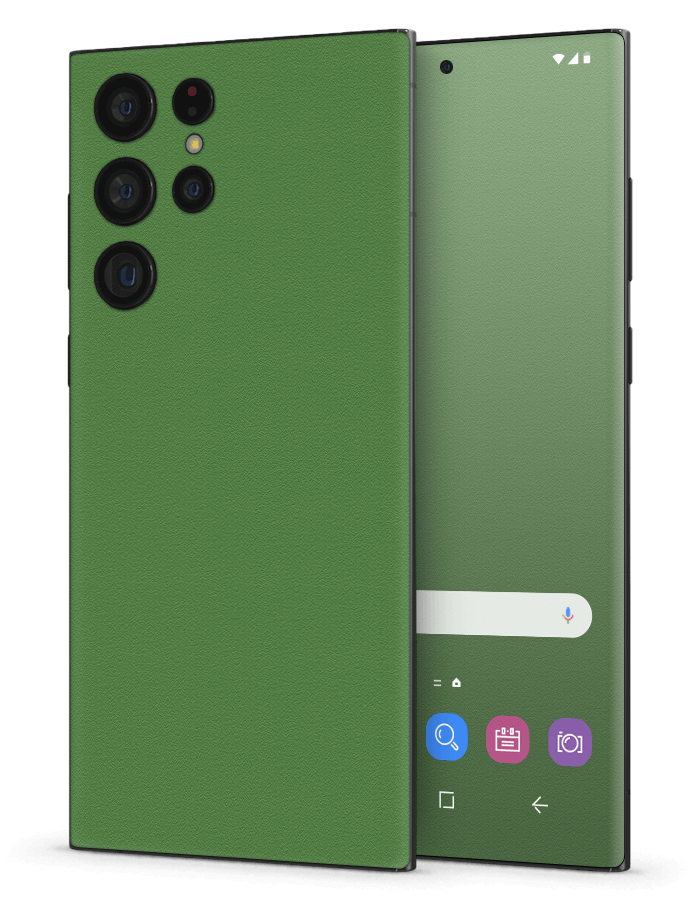 Architectonical Samsung Skin Rugged Green